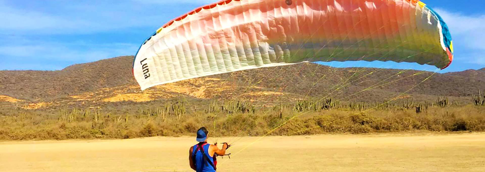 Paragliding Experiences in Baja Mexico | Paramotor Training